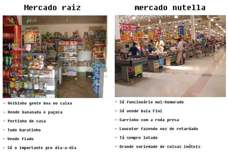 mercado raiz nutella
