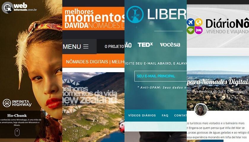 nomades digitais brasileiros