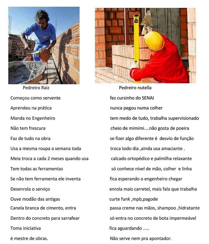 Pedreiro Raiz x Pedreiro Nutella