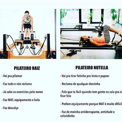 Pilateiro Raiz x Pilateiro Nutella