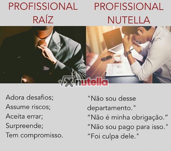 Profissional Raiz x Profissional Nutella