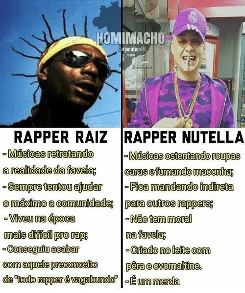 Rapper Raiz x Rapper Nutella