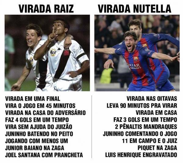 Virada Raiz x Virada Nutella