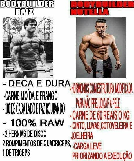 top memes bodybuilder raiz bodybuilder nutella