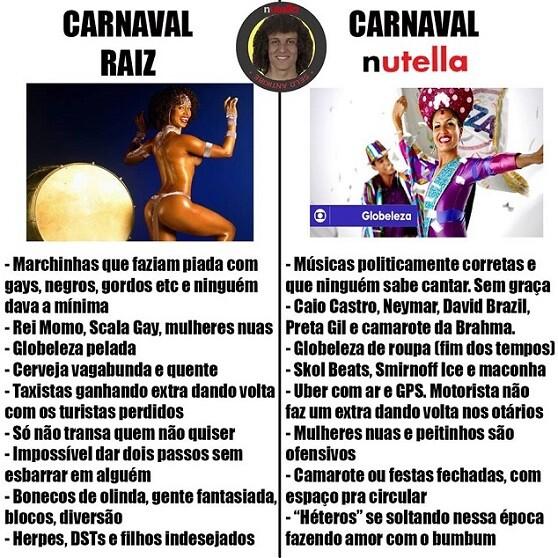 top memes carnaval raiz carnaval nutella