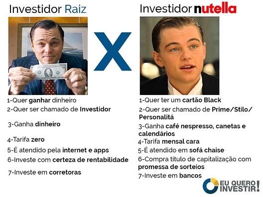 top memes investidor raiz investidor nutella