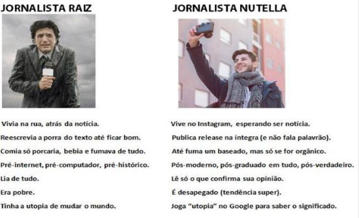 top memes jornalista raiz jornalista nutella