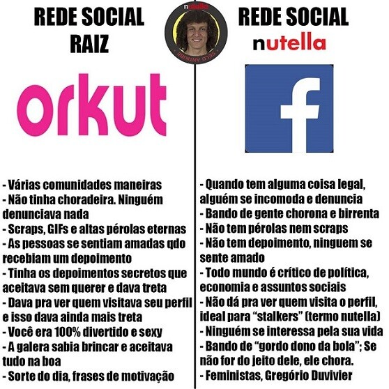 top memes orkut raiz facebook nutella
