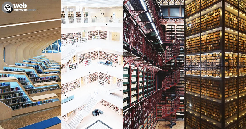 bibliotecas mais incriveis do mundo