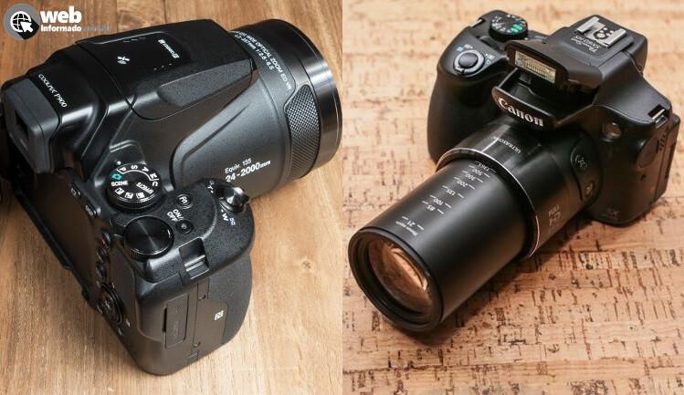cea931ad4c Melhor Câmera Semiprofissional Superzoom  Nikon ou Canon